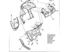 Casquillos pinzas freno 4cm MOTOSTION FRENOS Y MANETAS  -