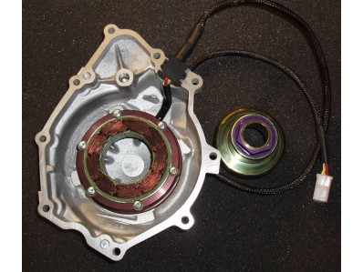 Kit rotor r6r 06-15 con tapa + regulador + alternador NUEVO