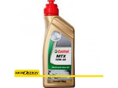 Aceite CASTROL MTX 10W-40 1 litro para 2T y 4T