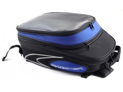 Bolsa de depósito nueva Bagster modelo EVOSIGN color negro-azul sujección clip