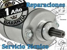 Motor de arranque reparacion YAMAHA  -  despiece de moto