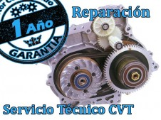 CVT Transmisión de Burgman 650, Reparación Completa con recambio original