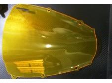Cupula doble burbuja nueva amarilla fluo F.FABRI cbr 600 rr 2003 - 2004