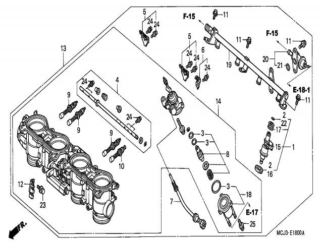 bateria inyectores honda cbr 900 929 cc 2000 2001 1981 Honda Motorcycle 900 CC