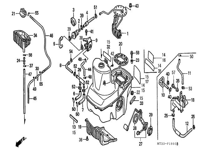 1990 Honda Shadow 1100
