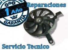Reparación electroventilador fazer 600 cc. 2007-2009