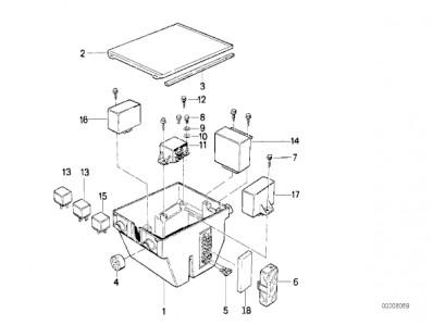 bmw k75 fuse box wiring diagram detailed