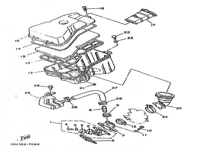 Caja Laminas Yamaha Tzr 80 1989 1991