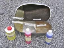Kit Anti Oxido y Reparador de Depositos de Gasolina metalico
