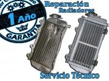 Reparacion radiador agua