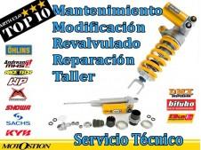 Amortiguador, Reparación, Mantenimiento y Modificación Revalvulado