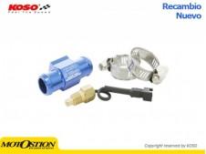 Adaptador para sensor temperatura de agua KOSO Ø22mm  BG022B00 Marcadores y sensores Marcadores y sensores