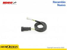 Cable de conexión sonda lambda KOSO BO002001 Marcadores y sensores Marcadores y sensores