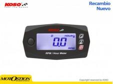 Cuenta Rpm + cuenta horas universal KOSO  BA033W00 Marcadores y sensores Marcadores y sensores