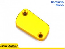 Tapa deposito bomba freno trasero amarillo Suzuki Dep?sito para bomba de freno y embrague off road Dep?sito para bomba de freno