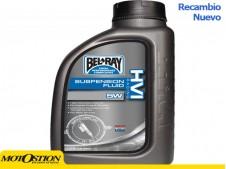 Botella 1 L Aceite Bel-Ray Amortiguador HVI Racing 15W Aceite para amortiguador Aceite para amortiguador