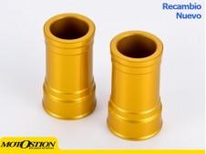 Casquillos de rueda delantera Suzuki Amarillo Casquillos separadores de rueda Casquillos separadores de rueda