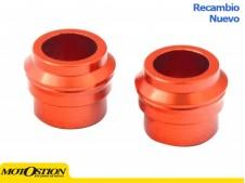 Casquillos de rueda delantera Vparts KTM/Husqvarna naranja Casquillos separadores de rueda Casquillos separadores de rueda