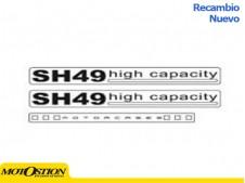 Adhesivos SHAD SH49 Recambios y accesorios Recambios y accesorios