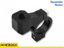 Abrazadera CNC retrovisor cross M10/125 R/Izdas Adaptadores y accesorios Adaptadores y accesorios