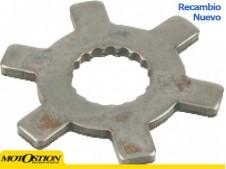Arandela dentada para polea fija Ø16x14mm 15 dientes Motor chino QJ Sistema de arranque Sistema de arranque