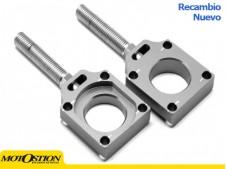 Tensores de eje trasero Kawasaki / Suzuki Gris Tensores de cadena Tensores de cadena