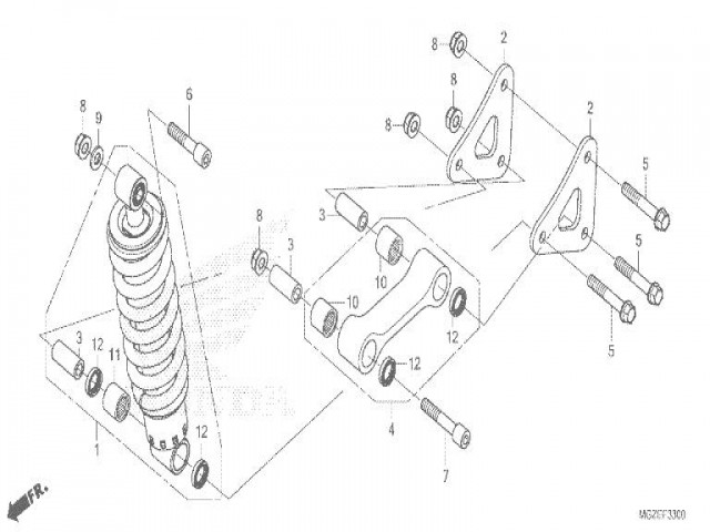 Bieletas Honda Cb 500 F Abs 2013