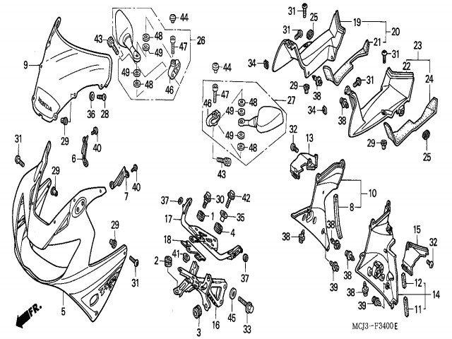 Honda Cbr Dual Exhaust