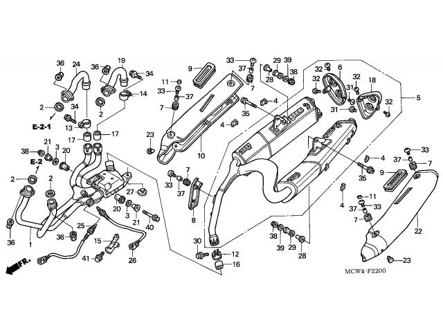sonda lambda honda vfr 800 2003