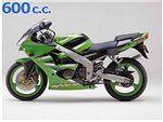 zx6 r 600 cc 2000 - 2001
