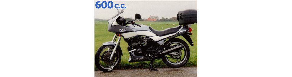 xj 600 1988-1990
