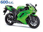 zx6 r 600 cc 2007 - 2008