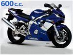 r6 600 cc 2001 - 2002
