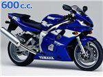 r6 600 cc 1999 - 2000