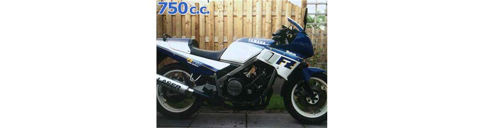 fz 750 1985-1986