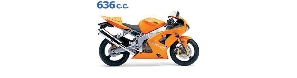 zx6 r 636 cc 2004 - 2006