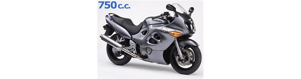 gsx f 750 1998-2003