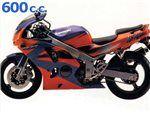 zx6 r 600 cc 1994 - 1996