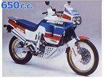 africa 650 1988-1989