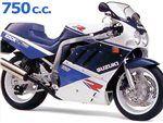 gsx 750 r 1988 - 1989