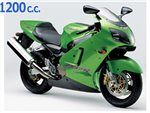zx12 r 1200 cc 2000 - 2001