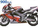 zx9 r 900 cc 1994 - 1995