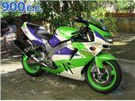 zx9 r 900 cc 1996 - 1997
