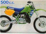 kx 500 1993-1993