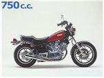 virago 750 1988-1992