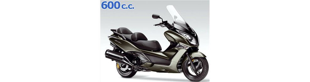 silver wing 600 2010-2015
