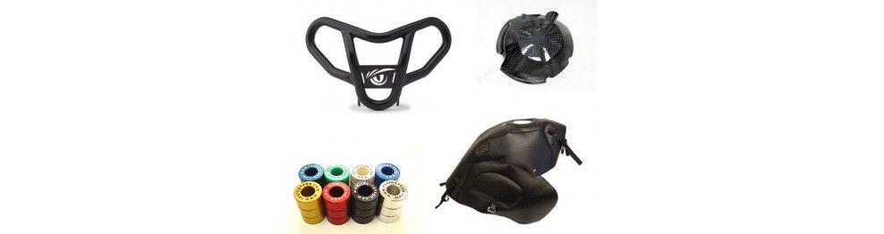 Protecciones para la moto