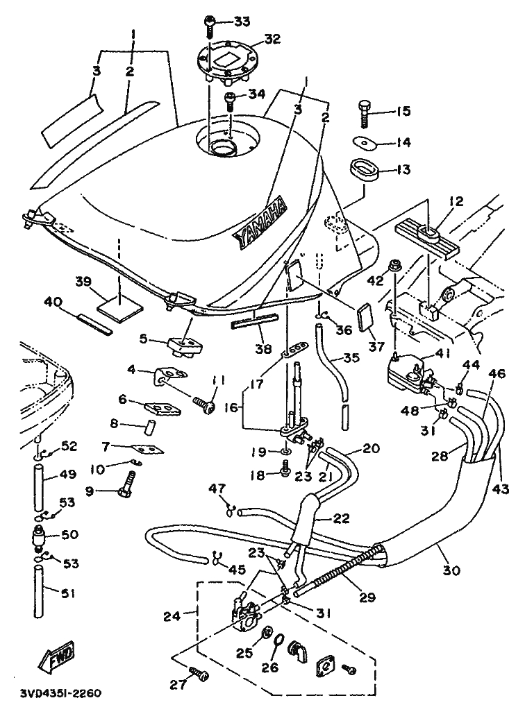 yamaha 1995 vmax 1200 schematic - best place to find ... yamaha rectifier wiring diagram for 8 yamaha vity wiring diagram